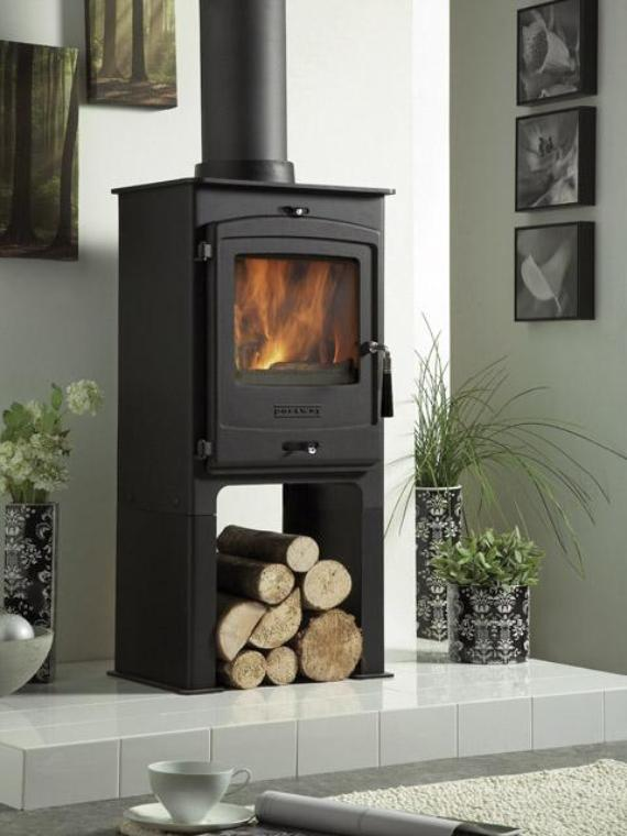 Multi Fuel Modern Stoves Wood Burning Stove Installation